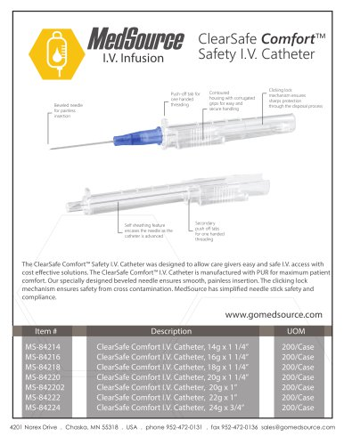 ClearSafe Comfort