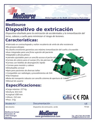 Dispositivo de extraccion