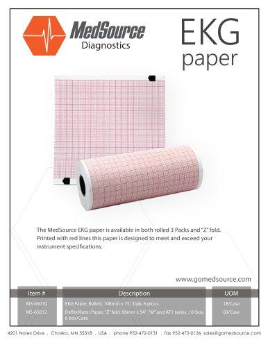 MedSource EKG Paper
