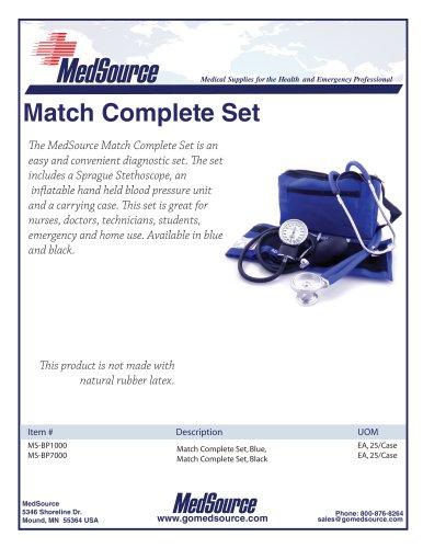 MedSource Match Complete Set