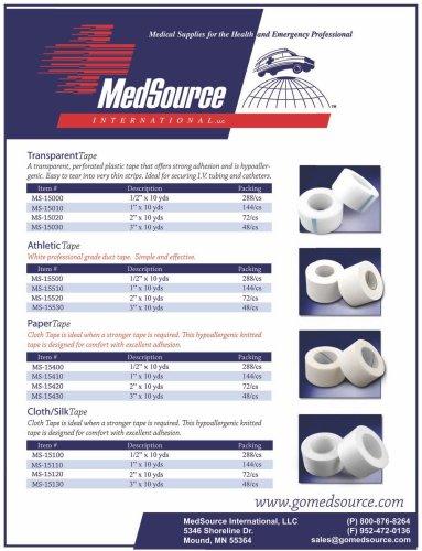 MedSource Tape
