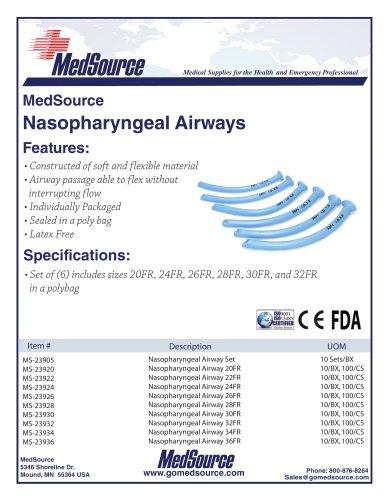 Nasopharyngeal Airways