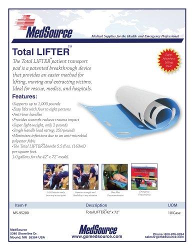 Total Lifter Patient Transport Pad