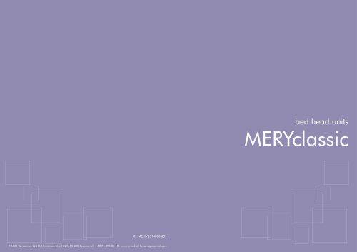 MERYclassic bed head units