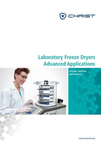 Laboratory Freeze Dryers Advanced Applications