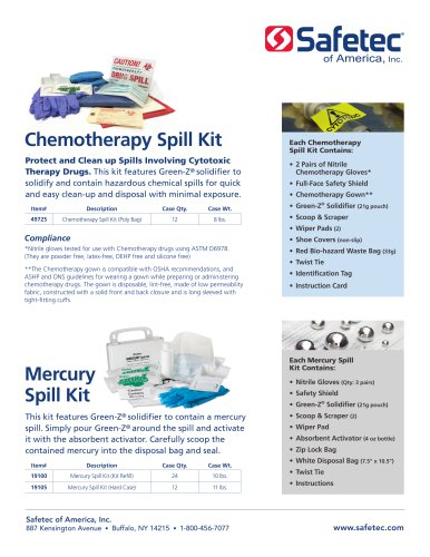 Chemotherapy Spill Kit (49725)