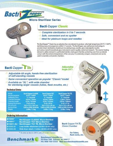 BactiZapper Sterilizer Series
