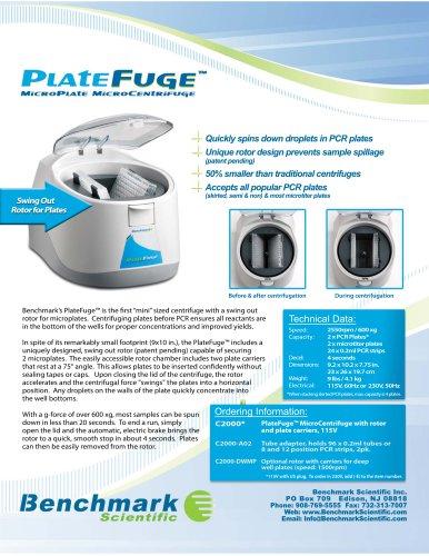 PlateFuge Microcentrifuge