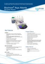 Biochrom Asys Atlantis Datasheet Issue 1011
